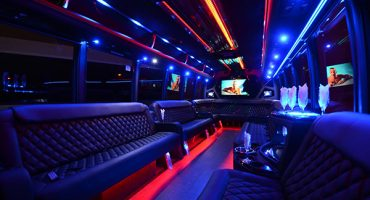 40 passenger party bus rental Anaheim